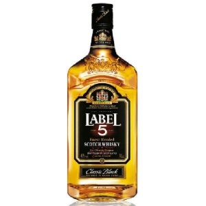 label-5-scotch-whisky-70cl personnalis